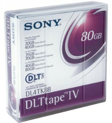 DLT IV SONY 20/40/80GB TAPE