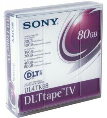 DLT IV SONY 20/40/80GB TAPE