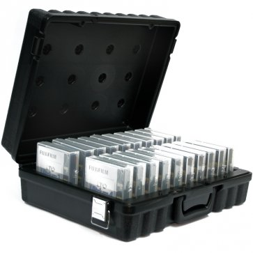 Turtle Case holds 20 LTO Tapes