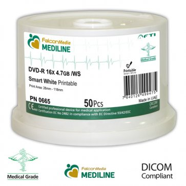 Medical Grade DVD-R (Spindle x50)