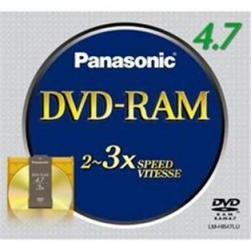 Panasonic 4.7GB DVD Ram Cartridge