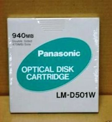 Plasmon 940MB WORM Disk