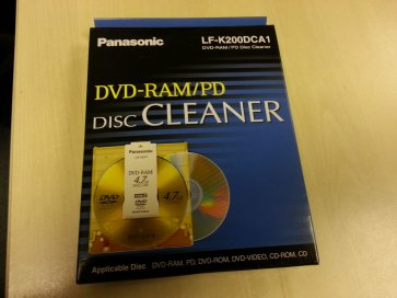 Panasonic DVD-RAM Disk Cleaner