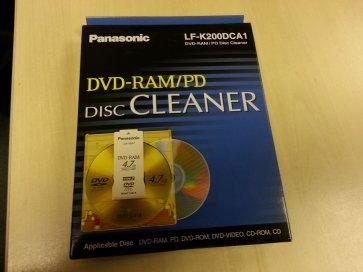 Panasonic DVD-RAM Disk Cleaner
