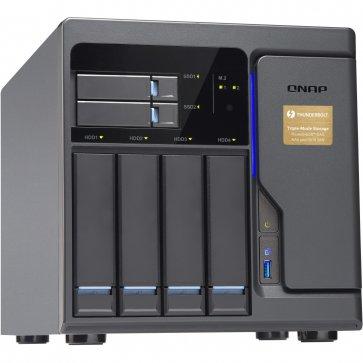 QNAP TVS-682T-I3-8G 6x Bays SAN/NAS Server (Thunderbolt2)