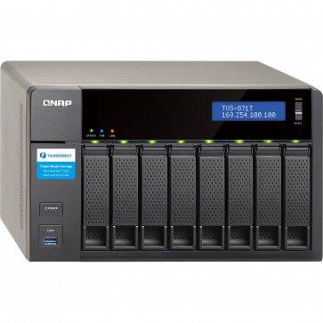 QNAP TVS-871T 8 Bay Desktop NAS (Thunderbolt2) <br/>Bundle Options available