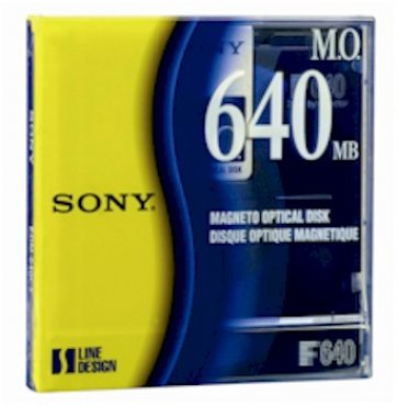 SONY 640MB MO MEDIA 3.5