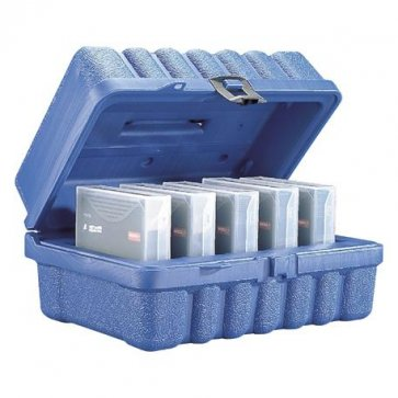 Turtle Storage Case holds 5 LTO Tapes