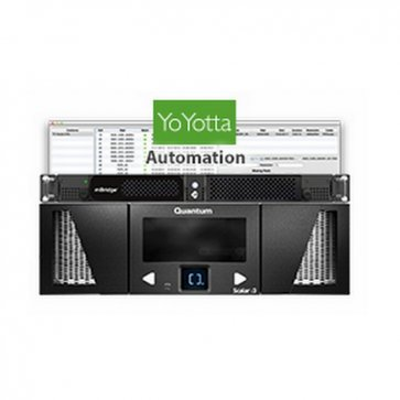 mAutomation i3 LTO tape library with Thunderbolt2 and Software
